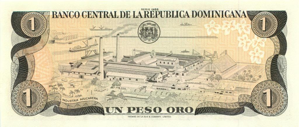 1 песо 1988 года (Доминикана)