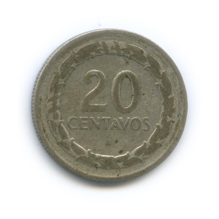20 сентаво 1946 года (Колумбия)