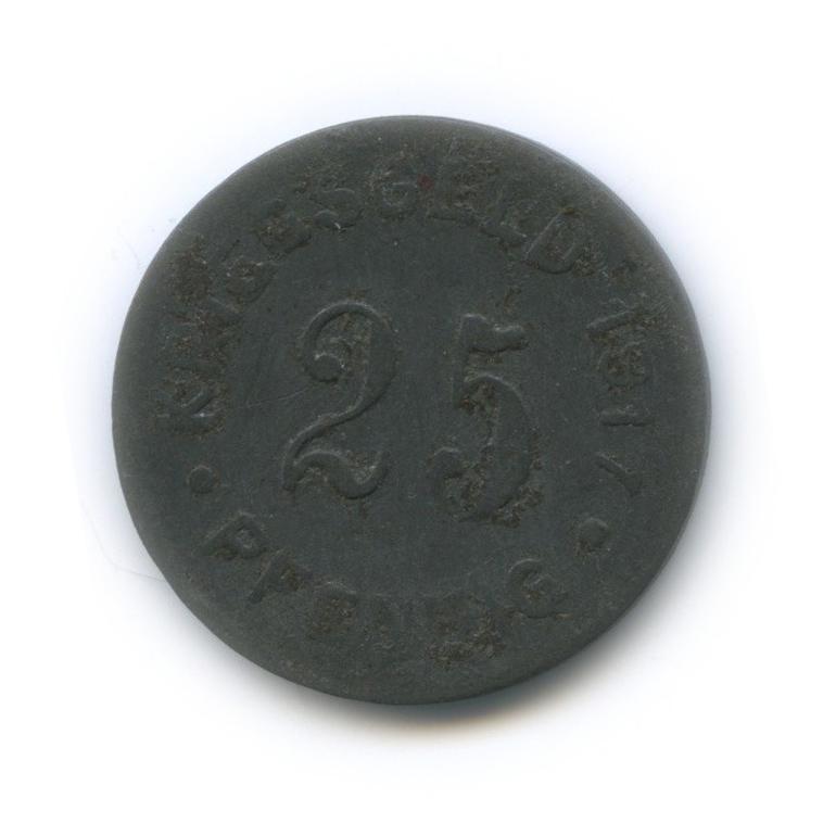 25 пфеннигов, Мюнстер (нотгельд) 1917 года (Германия)