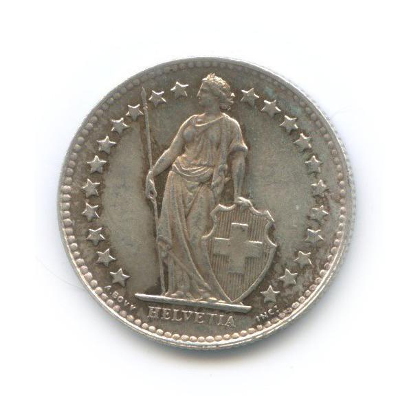 ½ франка 1950 года (Швейцария)
