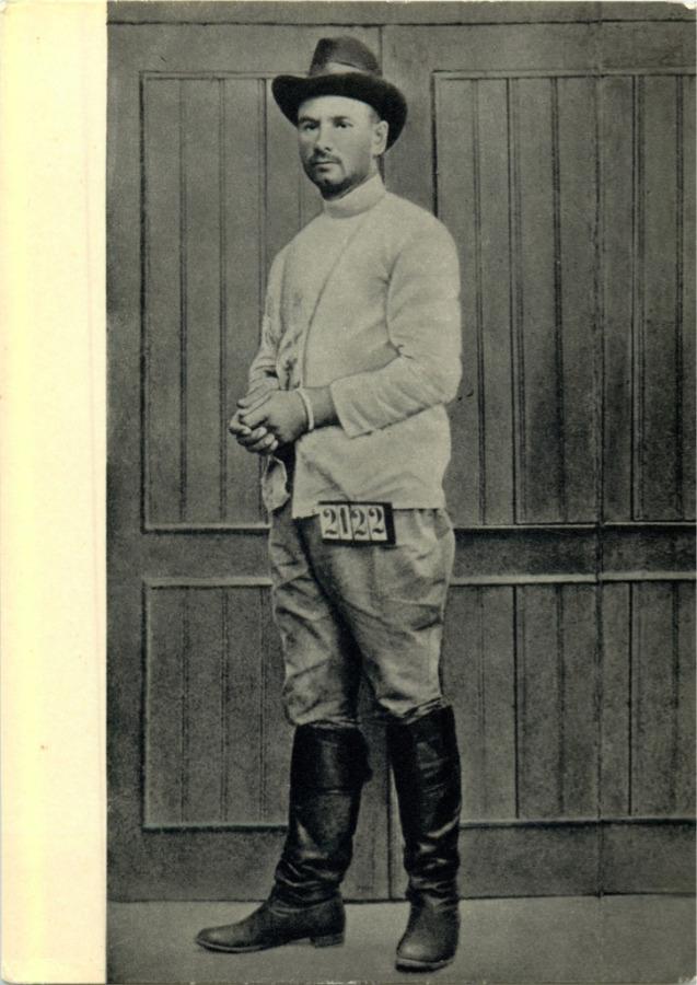 Открытка «Г. Котовский. Тюремный снимок, 1906 год» 1972 года (СССР)