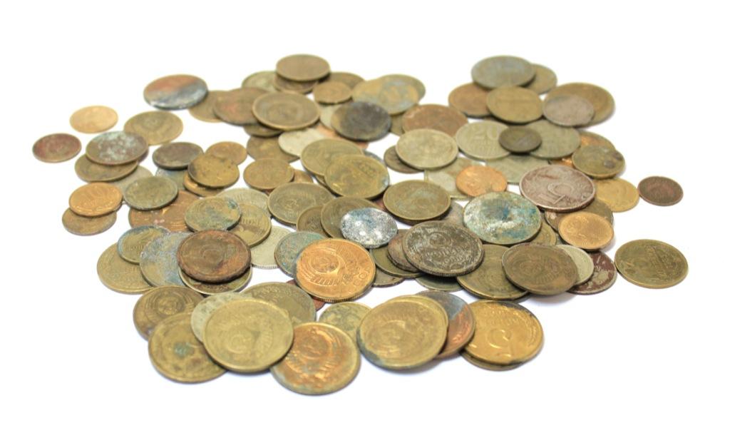 Набор монет СССР (110 шт.) (СССР)