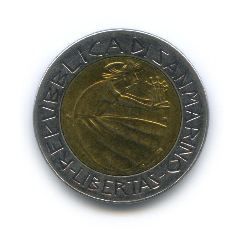 500 лир - Борьба снаркотиками 1985 года (Сан-Марино)