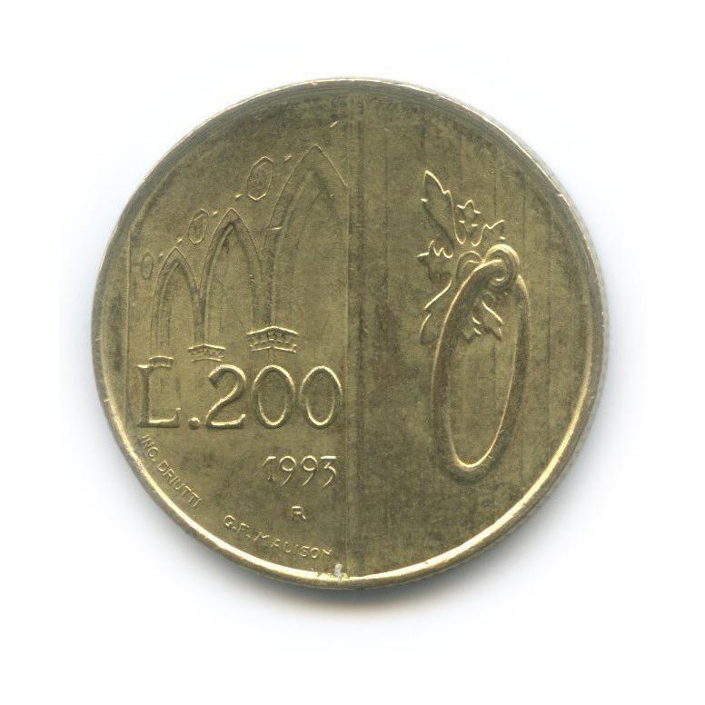 200 лир - Врата Сан-Марино 1993 года (Сан-Марино)