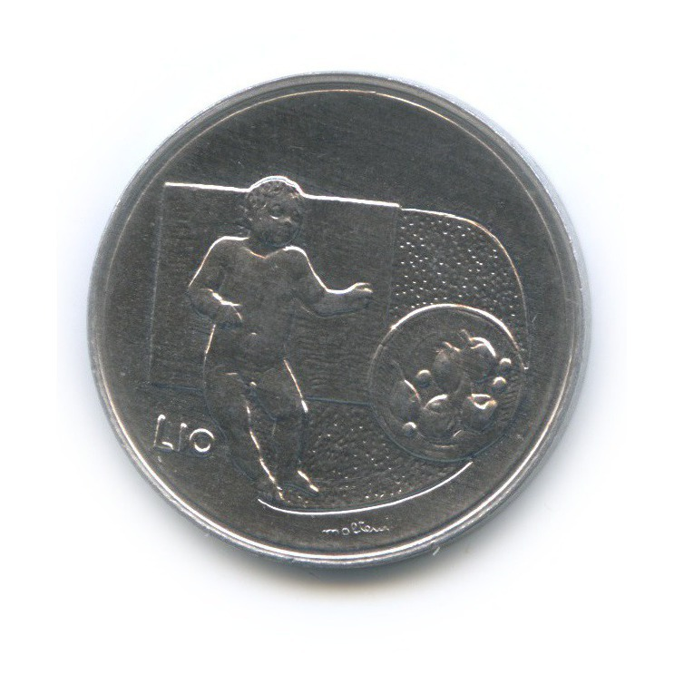 10 лир - Республика 1976 года (Сан-Марино)