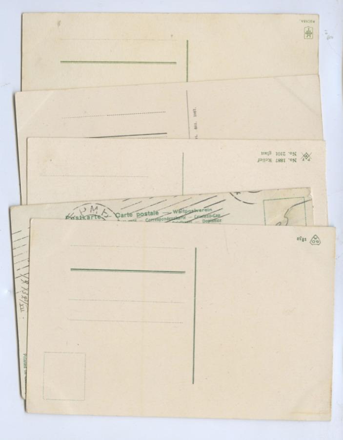 Набор открытых писем (СССР, Германия)
