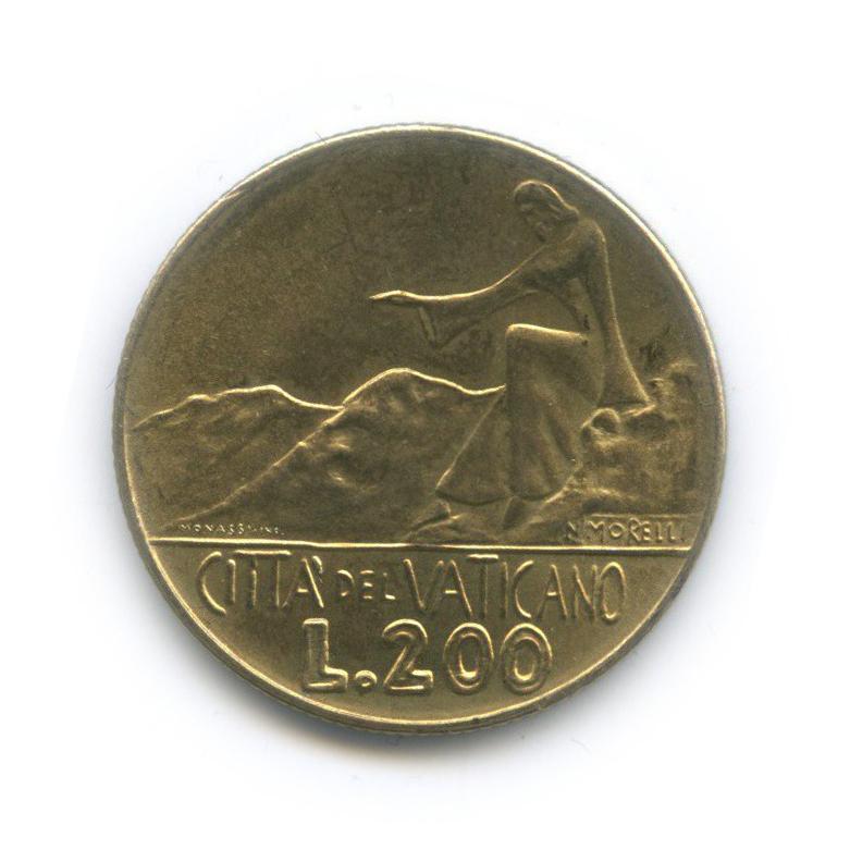 200 лир 1978 года (Ватикан)