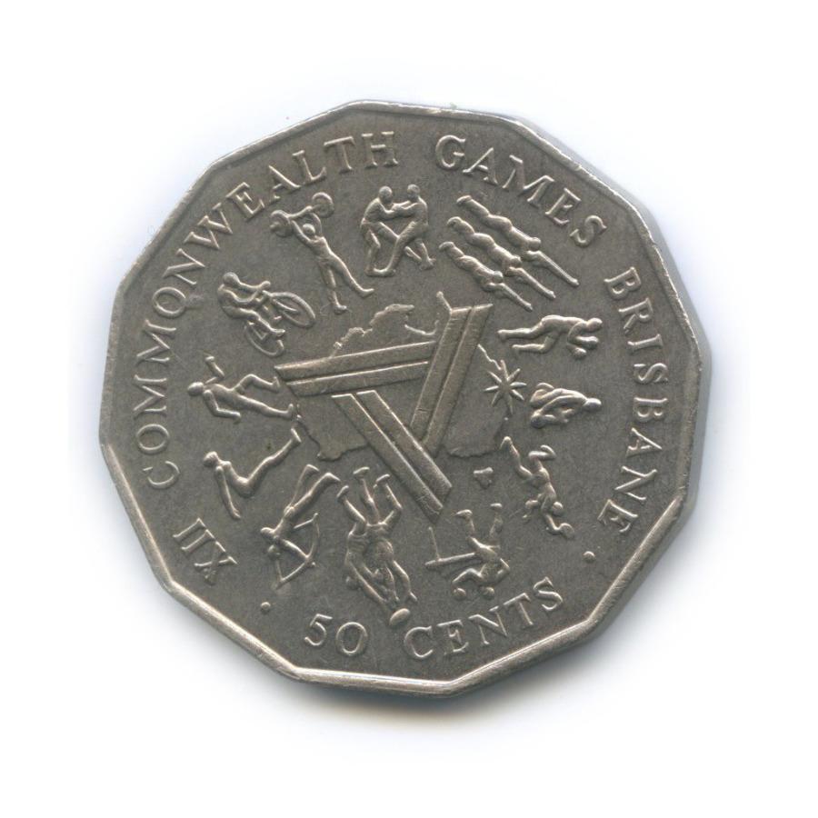 50 центов — ХII Игры Содружества 1982 года (Австралия)