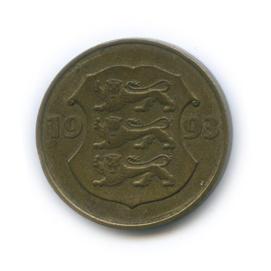 5 крон — 75 лет Эстонской республике 1993 года (Эстония)