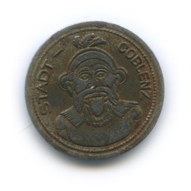 10 пфеннигов, Кобленц (нотгельд) 1920 года (Германия)