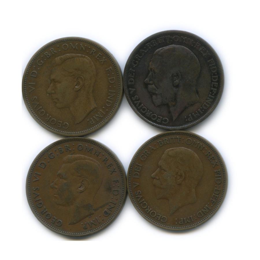 Набор монет 1 пенни (Великобритания)