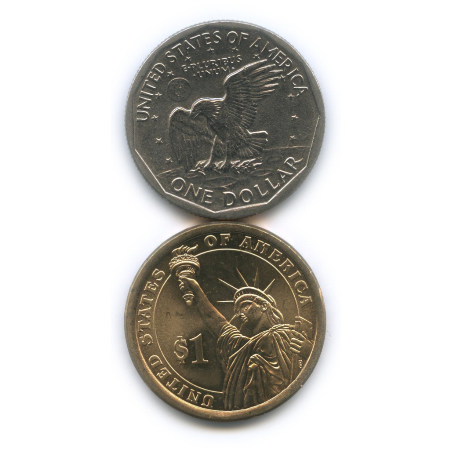 Набор монет 1 доллар 1979, 2015 (США)