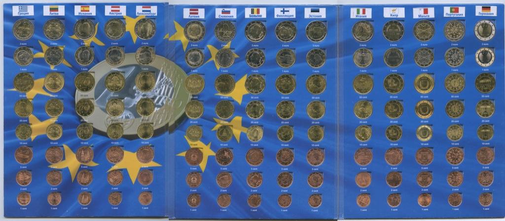 Набор монет вальбоме «Монеты стран Евросоюза»