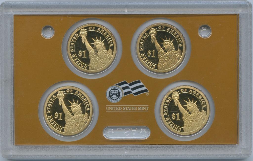 Набор монет 1 доллар - Президенты США 2007 года S (США)