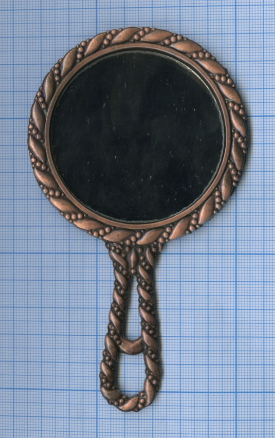 Зеркало «The Big Apple» (медь, 14×8 см) (США)