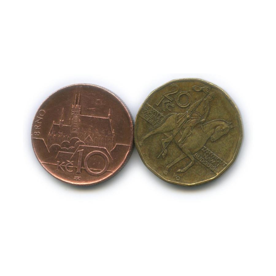 Набор монет 1999, 2003 (Чехия)