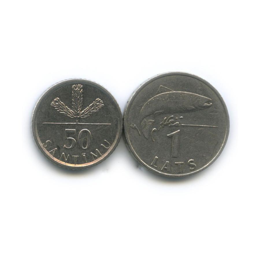 Набор монет 1992, 2009 (Латвия)