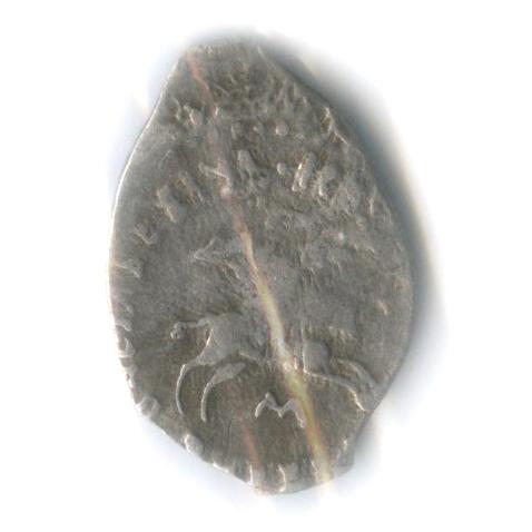 Деньга - Иван III, Новгород (вхолдере) 1462-1505 М