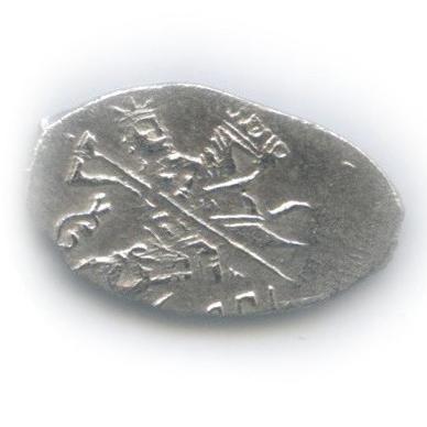 1 копейка - шведы вНовгороде ГК №327 (вхолдере)