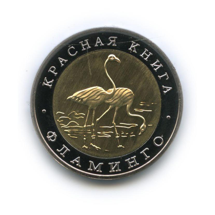 Жетон «50 рублей - Красная книга - Фламинго» (копия) (Россия)