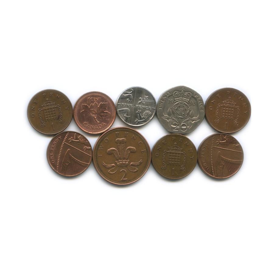 Набор монет (Канада, Великобритания)
