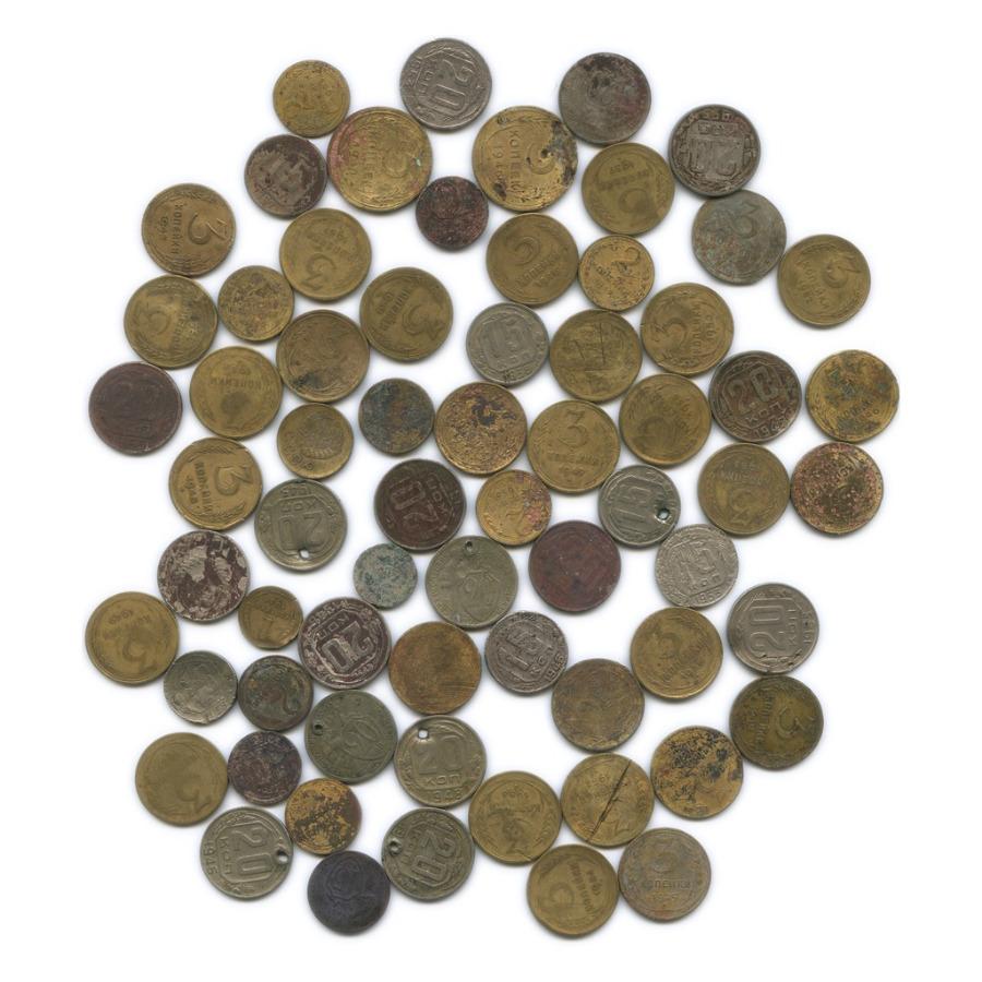 Набор монет СССР (67 шт.) (СССР)