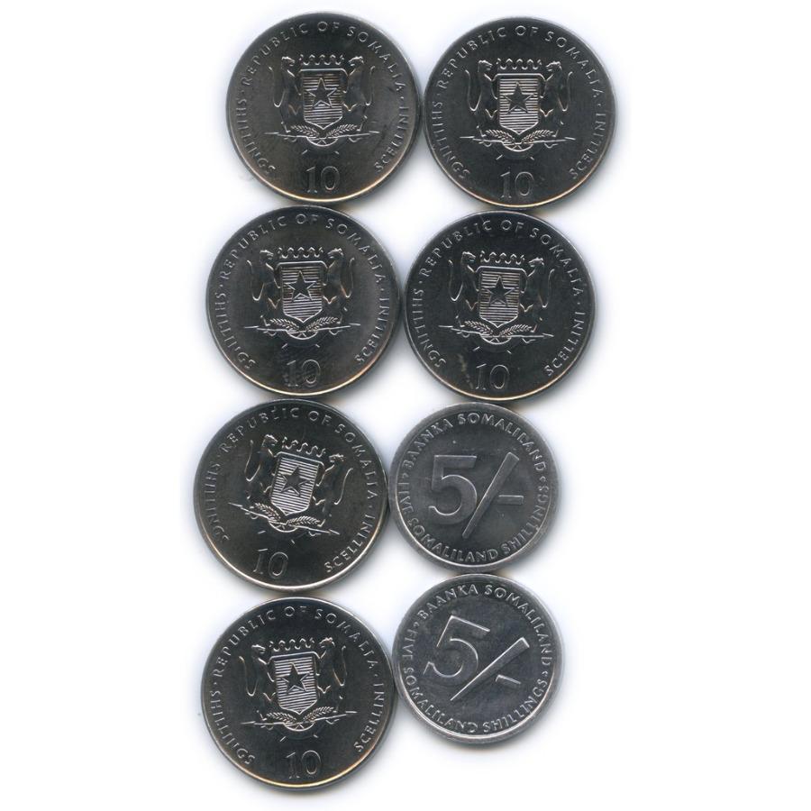 Набор юбилейных монет (Сомали)
