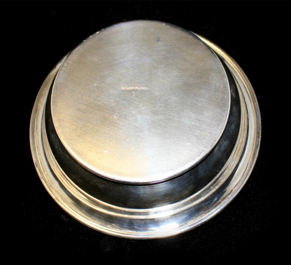 Вазочка (серебрение, 12,5 см) (Великобритания)