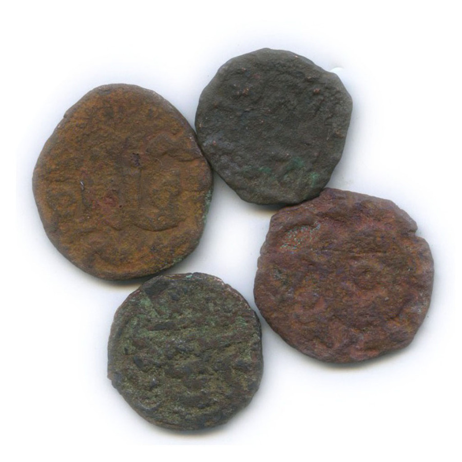 Набор монет (пулов) - Золотая Орда (1330-1350 гг.)