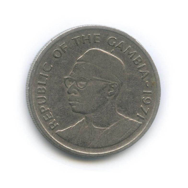 25 бутутов (Гамбия) 1971 года