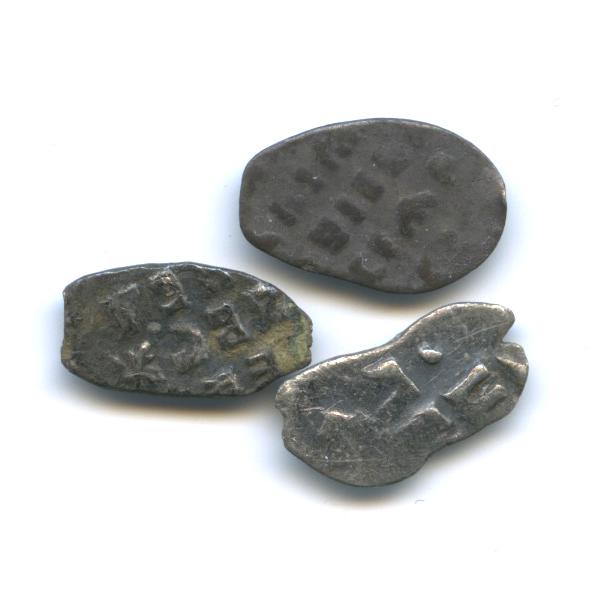 Набор монет 1 копейка, Петр I
