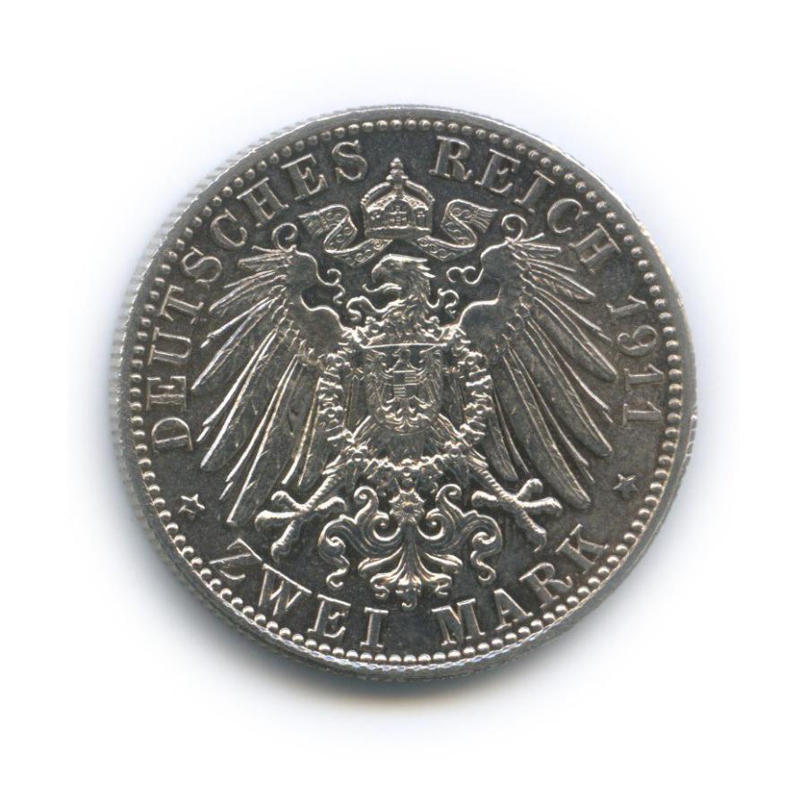 2 марки - 90-летие Луитпольда, Бавария 1911 года