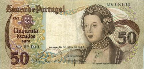 50 эскудо 1968 года (Португалия)