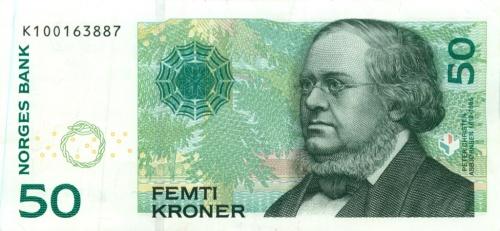 50 крон 2008 года (Норвегия)