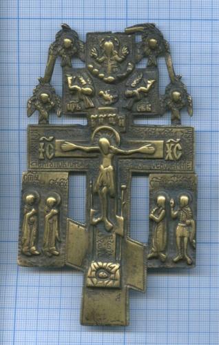 Крест «Распятие спредстоящими»