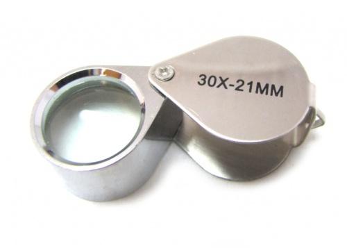 Лупа-брелок (30х - 21 мм)