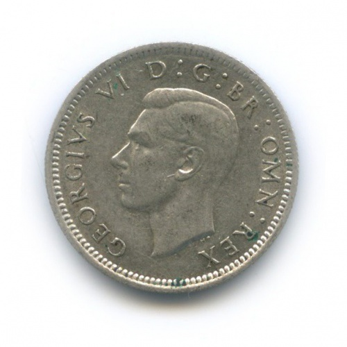 6 пенсов 1943 года (Великобритания)