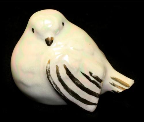Фигурка «Птица» (дефект - скол хвоста), 6,5 см