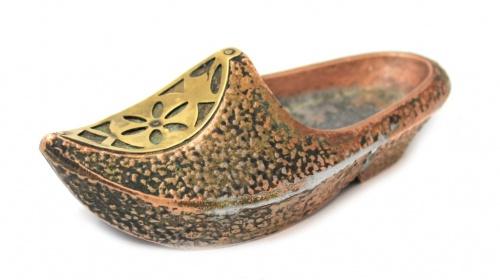 Пепельница «Туфля», силумин (15 см)