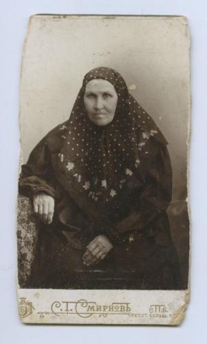 Фотокарточка (фотография от С. Т. Смирнова, Санкт-Петербург) (Российская Империя)