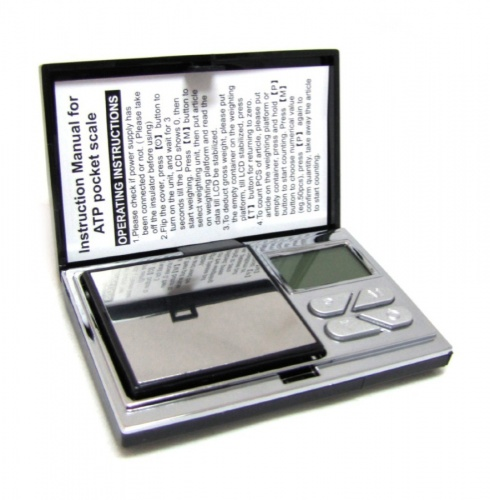 Весы электронные «Aosai» (100 гр х 0,01 гр), вчехле