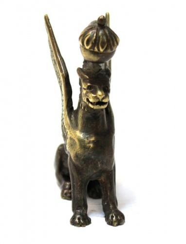 Фигурка «Грифон» (литье, бронза), 5 см