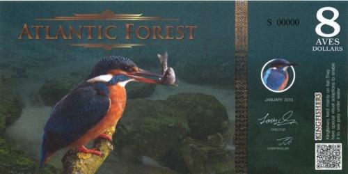 8 долларов (Атлантический лес) 2015 года