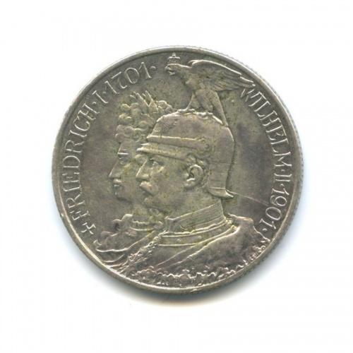 2 марки - 200 лет королевству, Пруссия 1901 года