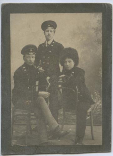Фотокарточка (фотография от А. Васильев, Санкт-Петербург) 1914 года (Российская Империя)
