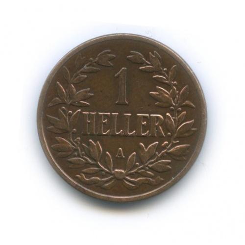1 геллер, Германская Восточная Африка 1904 года