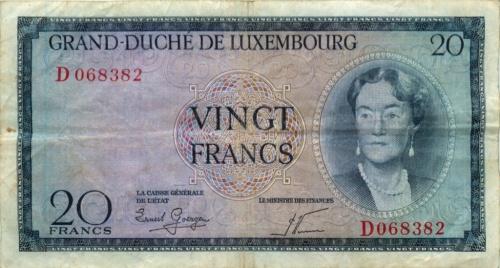 20 франков (Люксембург)