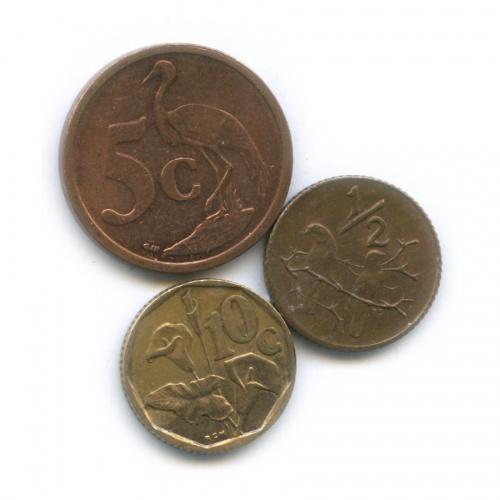 Набор монет (ЮАР)