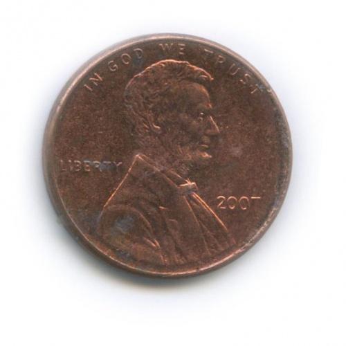 1 цент 2007 года (США)