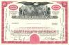 100 акций «Pan American World Airways, Inc» 1964 года (США)